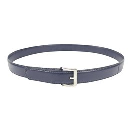 EE Dee Trim Navy Blue Adjustable Velcro Belt #FB33V