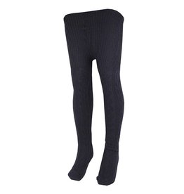 School Apparel A+ Navy Blue Cable Knit Tights #400