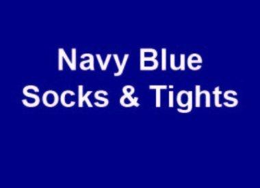 Navy Blue Socks & Tights