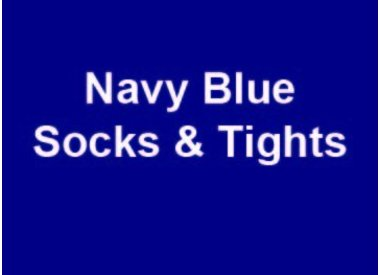 Navy Blue Socks & Tights