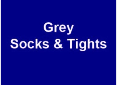 Grey Socks & Tights