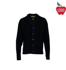 Universal Navy Blue Cardigan Sweater #U8821