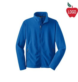 Port Authority Royal Blue Full Zip Fleece Jacket #217