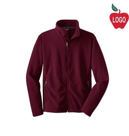 Port Authority Wine Full Zip Fleece Jacket #217