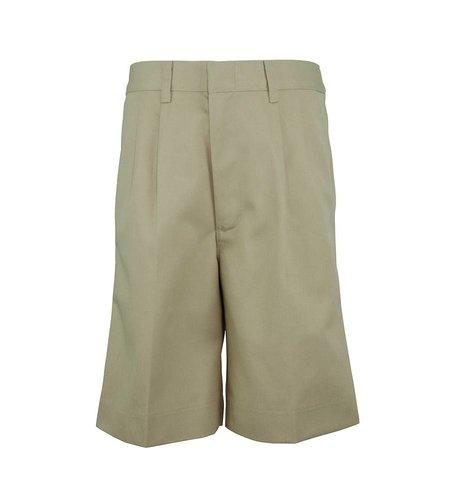 Elder Khaki Pleated Walk Shorts #1286