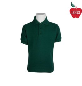Tulane Green Short Sleeve Pique Polo #8747