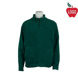 Team 365 Green Full Zip Fleece Jacket #TT90