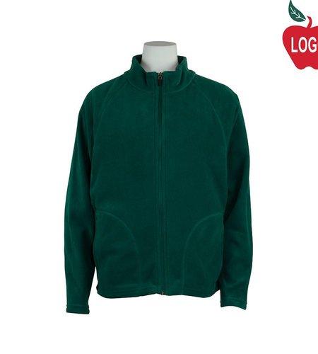 Team 365 Green Full Zip Fleece Jacket #TT90