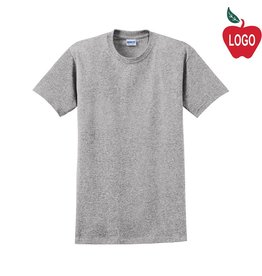 Gildan Oxford Grey Short Sleeve Tee #2000
