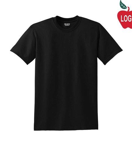 Gildan Black Short Sleeve Tee #8000