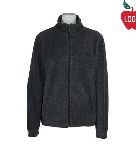 Harriton Charcoal Grey Fleece Jacket