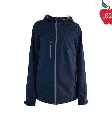 Ash City Navy Blue Soft-shell Jacket #TT80