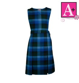 School Apparel A+ Douglas Plaid Jumper #1181PP
