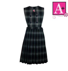 School Apparel A+ Daulton Plaid Jumper #1282PP