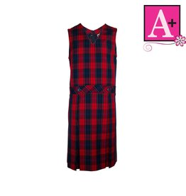 School Apparel A+ Wexford Plaid Jumper #1295PP