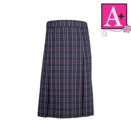 School Apparel A+ Newton Plaid 4-pleat Skirt #1334