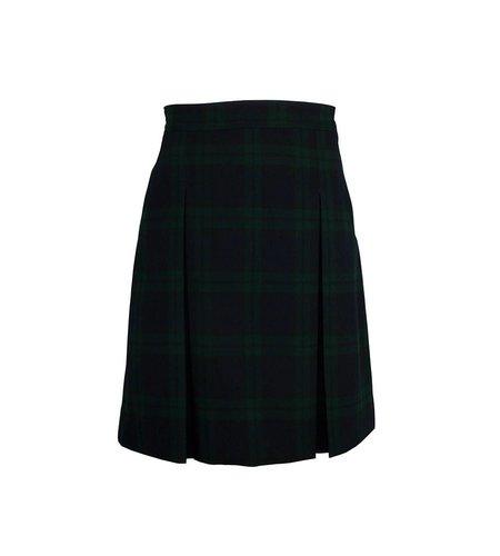 Dennis Uniform Blackwatch Plaid 4-pleat Skirt #868