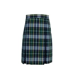 Dennis Uniform Christopher Plaid 4-pleat Skirt #868