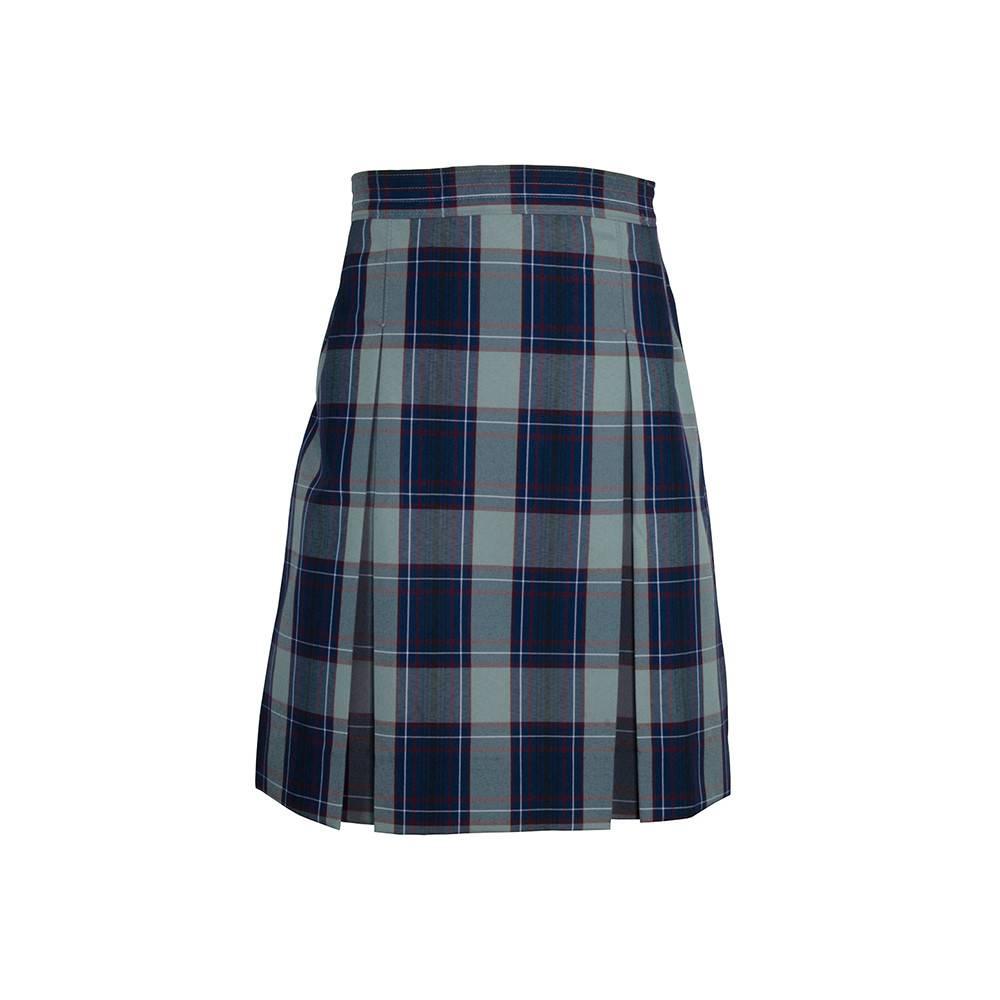 Dennis Uniform Dunbar Plaid 4-pleat Skirt #868