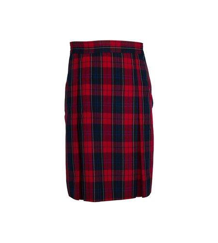 Dennis Uniform Woodland Plaid 4-pleat Skirt #868