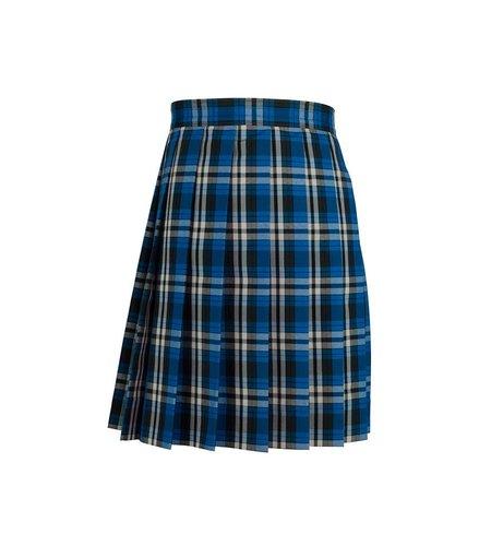 Dennis Uniform Rampart Plaid Knife Pleat Skirt #1886