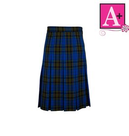 School Apparel A+ Mayfair Plaid Box Pleat Skirt #1943PP