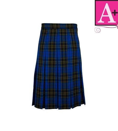 School Apparel A+ Mayfair Plaid Box Pleat Skirt #1943PP