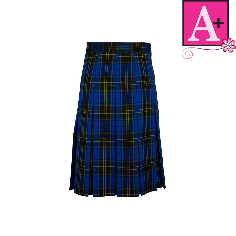 5869ffd8d1 School Apparel A+ Mayfair Plaid Box Pleat Skirt #1943PP - Merry Mart  Uniforms