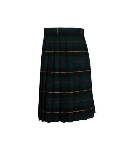 Rifle Aberdeen Plaid Knife Pleat Skirt #132