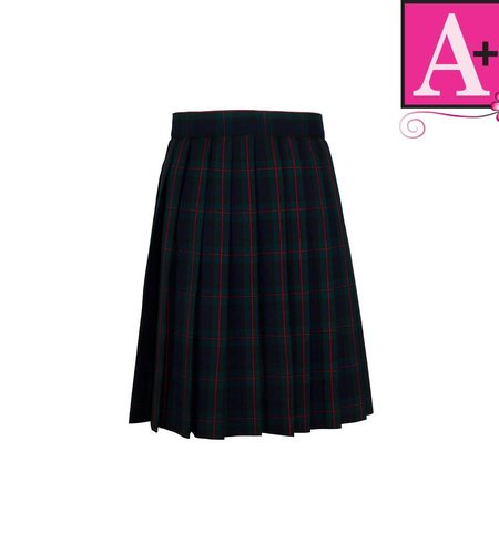 School Apparel A+ Lewis Plaid Knife Pleat Skirt #1032PP