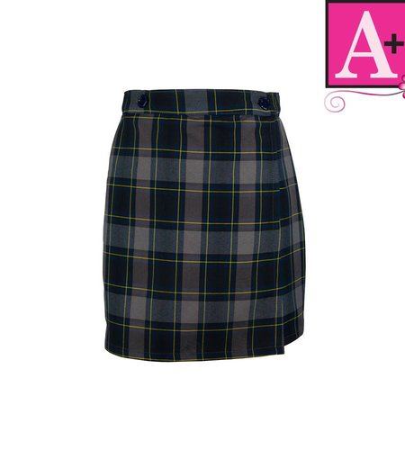 School Apparel A+ Daulton Plaid Skort #1014PP