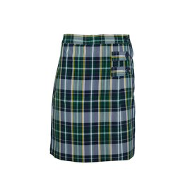 Dennis Uniform Christopher Plaid Skort #3521