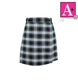 School Apparel A+ Manchester Plaid Skort #1014PP