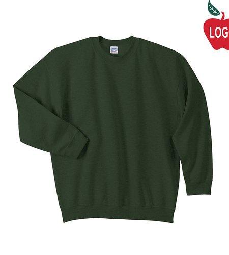 Gildan Green Crew Sweatshirt #6254