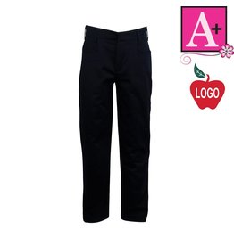 School Apparel A+ Uniform Navy Blue Mid-rise Pant #7540