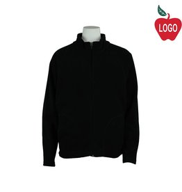 Team 365 Black Full Zip Fleece Jacket #TT90