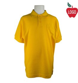 Universal Gold Short Sleeve Pique Polo #U838