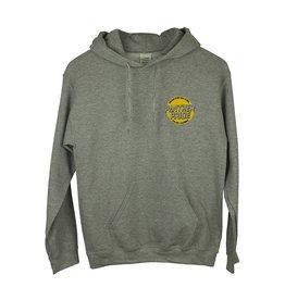 Gildan K19 Grey Hooded Sweatshirt
