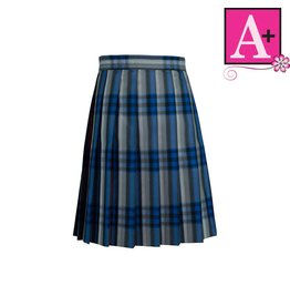 School Apparel A+ Windsor Plaid Knife Pleat Skirt #1032PP