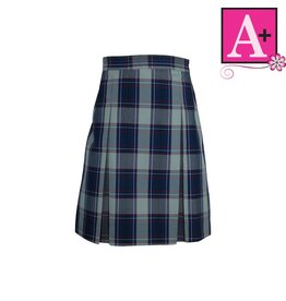 School Apparel A+ Dunbar Plaid 4-pleat Skirt #1034BP