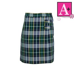 School Apparel A+ Christopher Plaid Skort #1149PP
