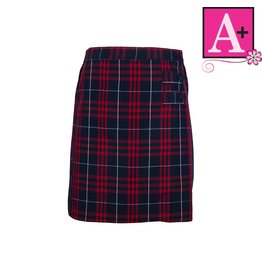 School Apparel A+ Hamilton Plaid Skort #1149PP
