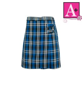 School Apparel A+ Rampart Plaid Skort #1149PP