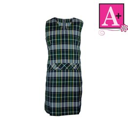 School Apparel A+ Christopher Plaid Jumper #1195PP