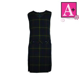 School Apparel A+ Belair Plaid Jumper #1195PP