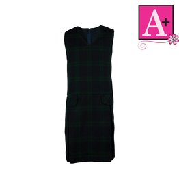 School Apparel A+ Blackwatch Plaid Jumper #1197PP