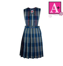 School Apparel A+ Windsor Plaid Jumper #1282PP