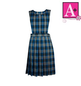School Apparel A+ Rampart Plaid Jumper #1288PP