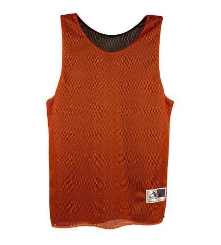 Augusta Orange/Black Athletic Pinnie #137/136