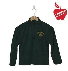 Elder Green Half Zip Microfleece Jacket #1000